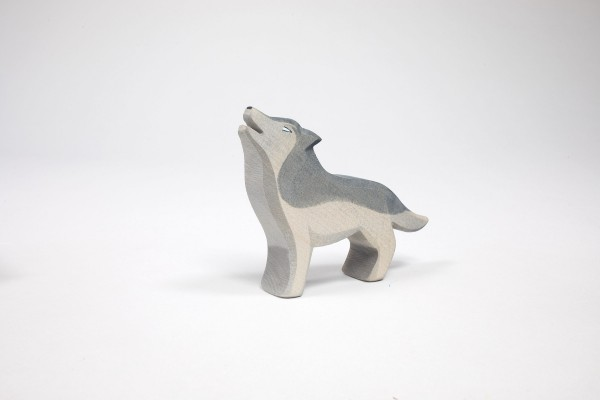 Wolf, heulend von Ostheimer