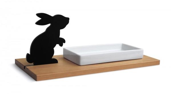 Kresse- oder Keksschale Hase