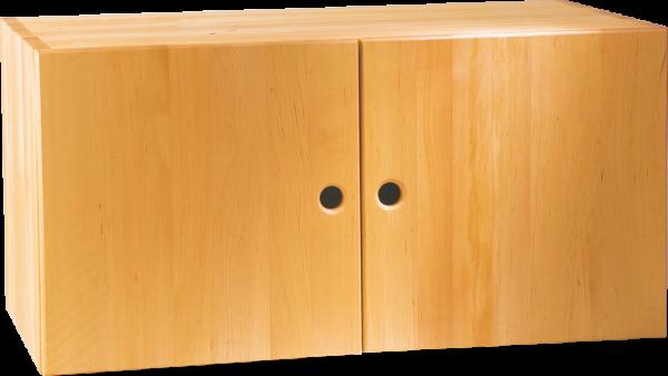 Max Regalwürfel 40 x 80 cm, mit 2 Türen