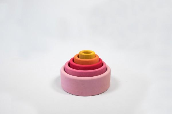 Stapel-Schälchen, rosa