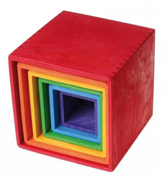 Regenbogen-Lernkästchen