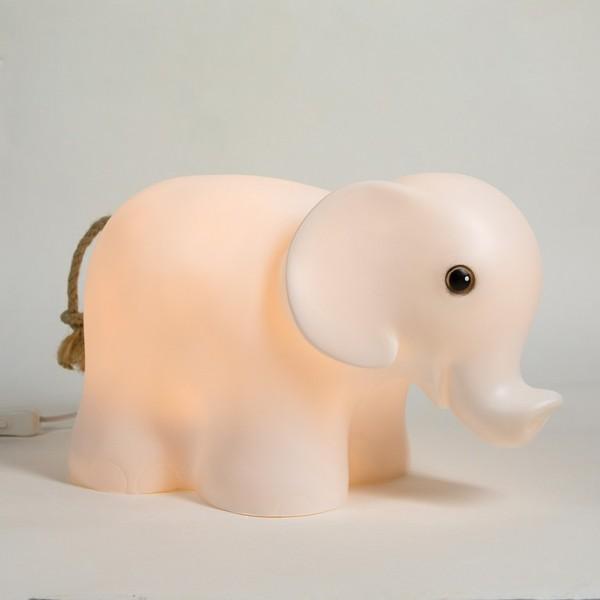 Nachttischleuchte Elefant