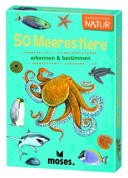 Kartenspiel 50 Meerestiere