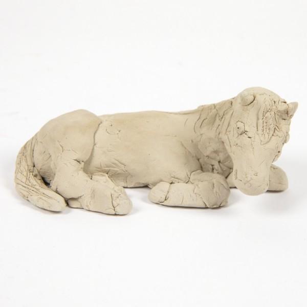 Terracotta Ton weiß, 6 kg