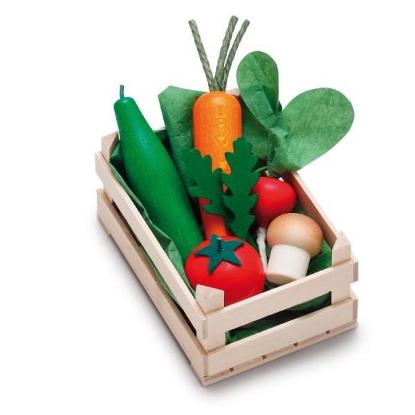 Gemüse in Stiege