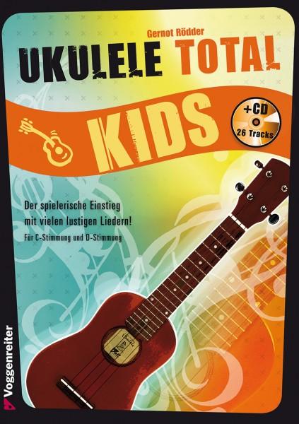 Buch Ukulele Total Kids + CD