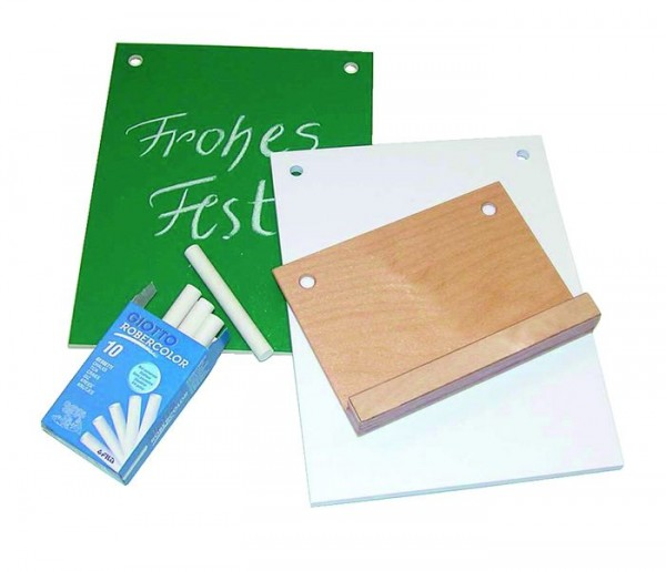 Kreativ-Zubehör-Set zum Holz-Kalender