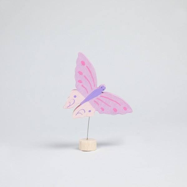 Stecker Schmetterling, rosa