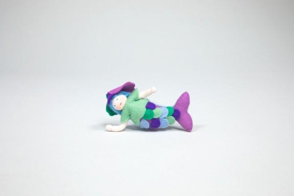 Meermädchen, lila