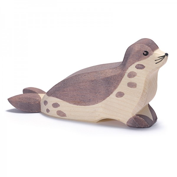 Seehund Kopf tief