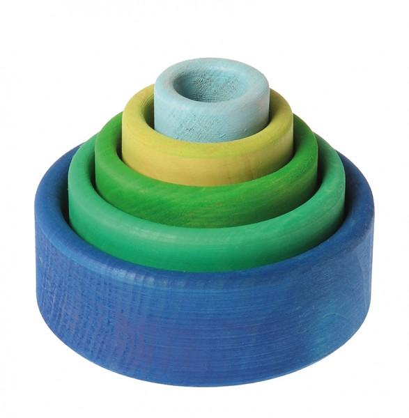 Stapel-Schälchen, blau