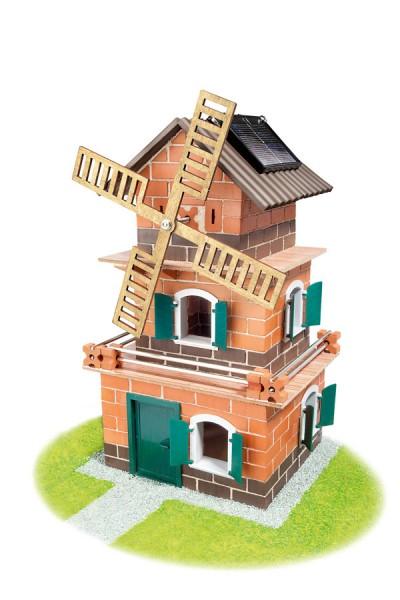 Bausatz Solar-Haus Windmühle