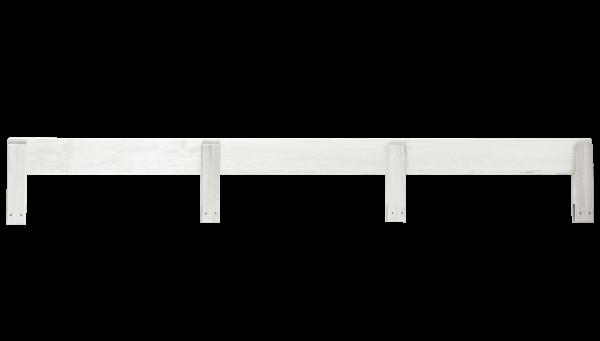 Ausfallschutz hinten 190 cm, weiß