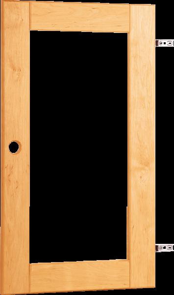 Carlo Tür mit Klarglasfüllung links|rechts