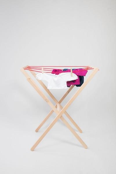 Wäscheständer mit Klammern
