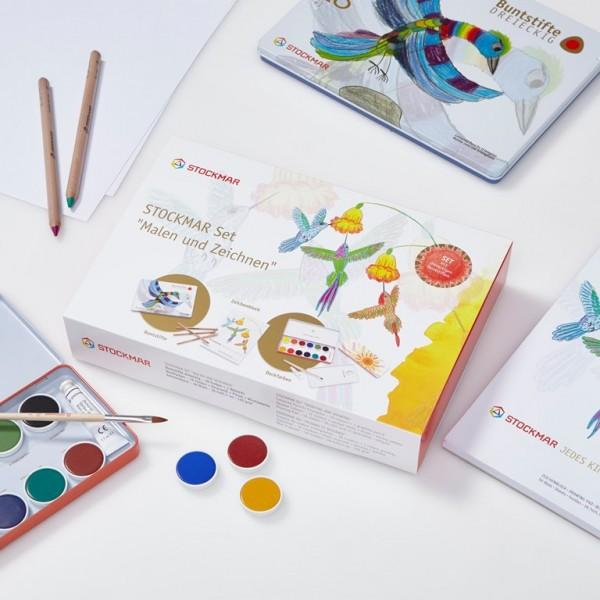 SET Malen und Zeichnen von Stockmar