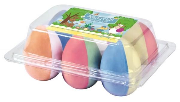 Malkreide Zwei-Farb-Eier