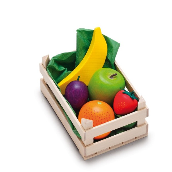 Obst in Stiege