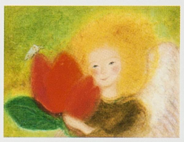 Engel-Monats-Kunstkarten SET