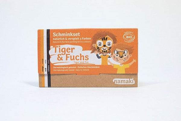 Schminke Set Tiger & Fuchs