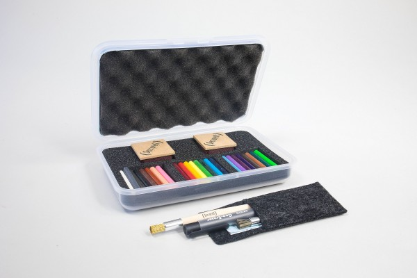 Seccorell Finger-Wischmalfarbe, Großbox