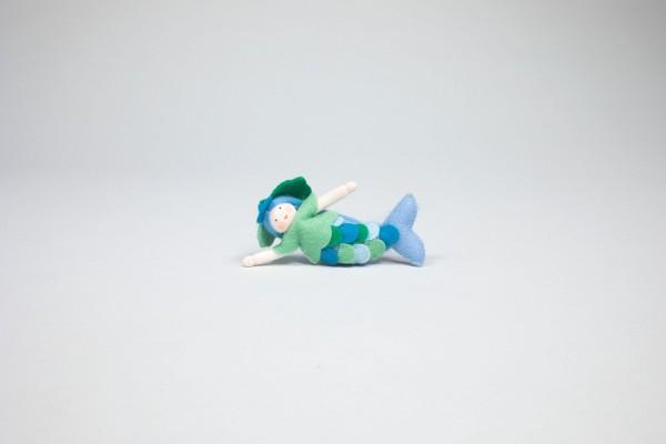 Meermädchen, hellblau