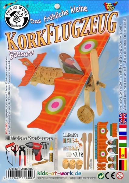 Korkflugzeug, 2er Set