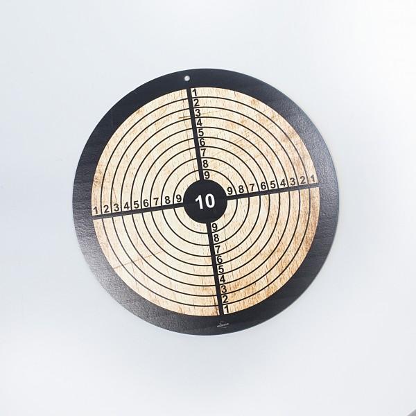 Zielscheibe aus Holz