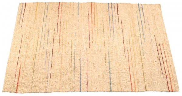 Handwebteppich Regenbogenstrahlen, 120 x 180cm
