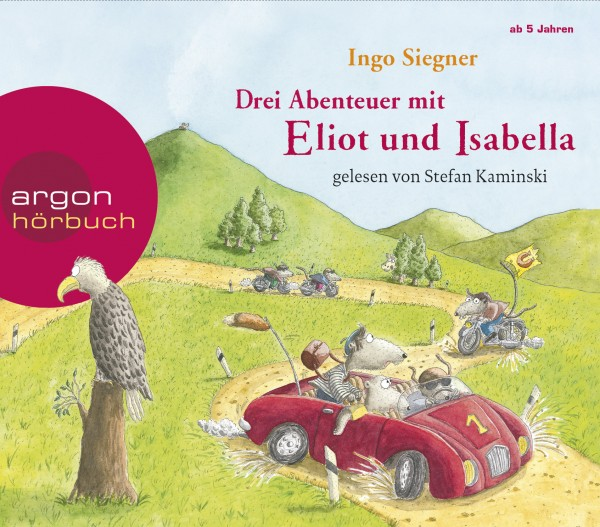 CD Drei Abenteuer mit Eliot und Isabella