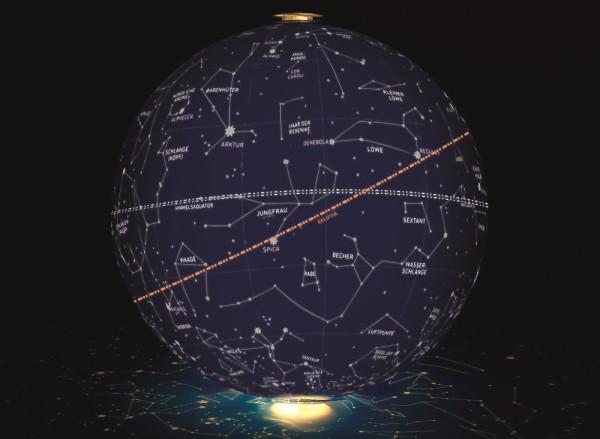 Aufblasbarer Sternenhimmel Ball