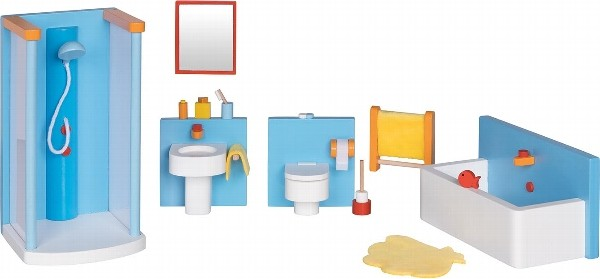 Puppenhausmöbel Badezimmer