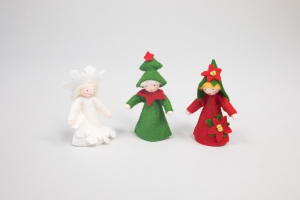 Blumenkinder Winter, 3er Set