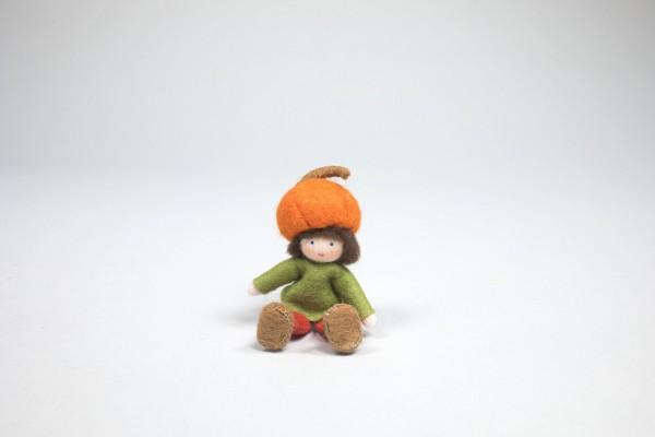 Kürbiskind, orange