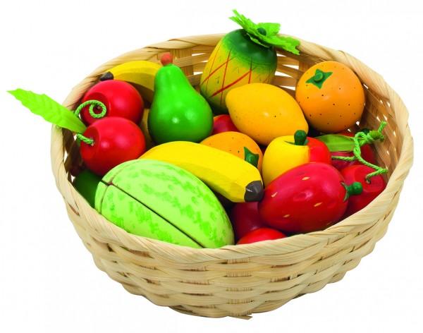 Obstkorb für Kaufladen