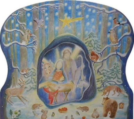 Adventskalender Weihnachten im Wald