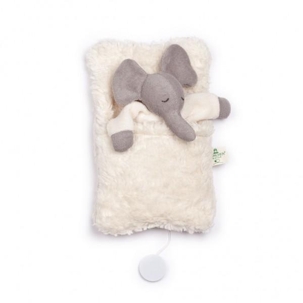 Spieluhr Elefant im Schlafsack