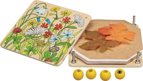 Blätter-/und Blumenpresse