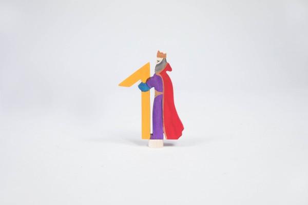 Märchenzahl 1 - König