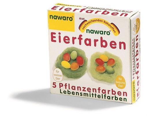 Eier-Färbefarben Natur-Lebensmittelfarben von nawaro