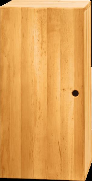 Max Regalwürfel 80 x 40 cm, hoch mit Tür