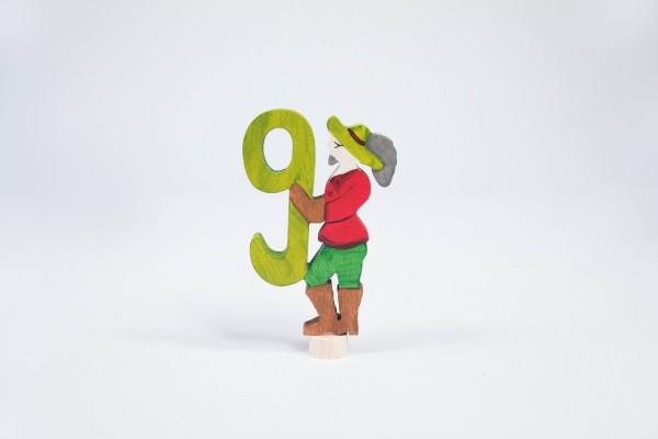 Märchenzahl 9 - Jäger