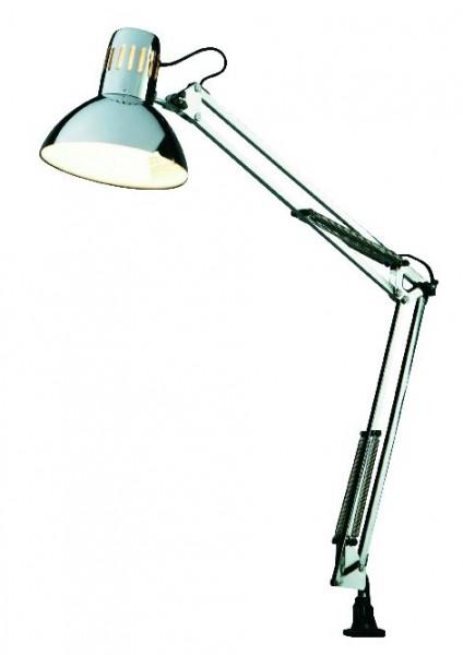 Vollspektrum-Tageslicht-Schreibtischleuchte, chrom