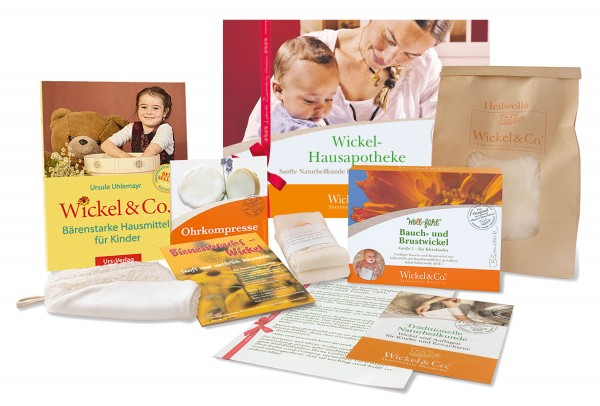 Wickel-Hausapotheke Geschenkpaket