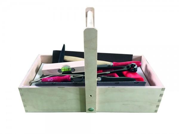 Werkzeugkasten mit Inhalt