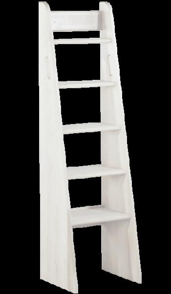 Treppenleiter 140 cm, weiß