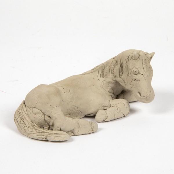 Terracotta Ton weiß, 1 kg