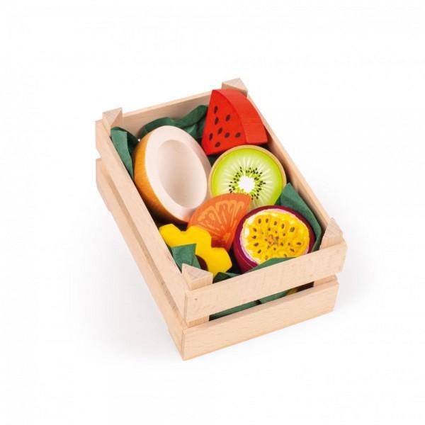 Tropische Früchte in Stiege