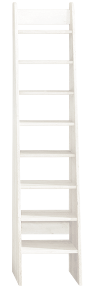 Treppenleiter 180 cm, weiß