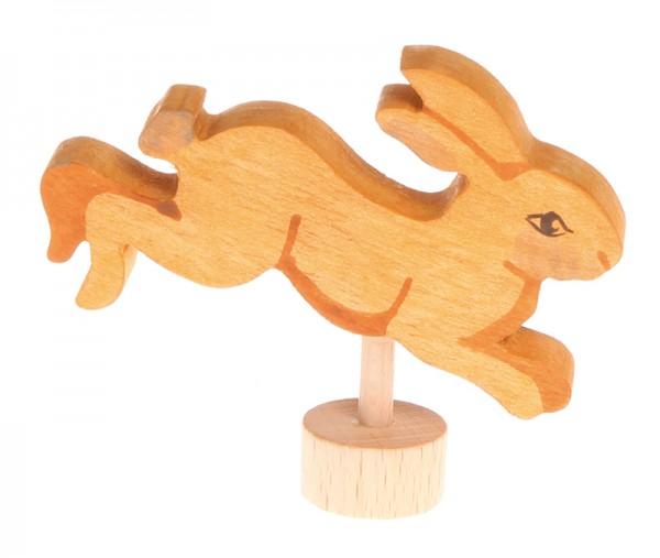 Stecker Hase springend